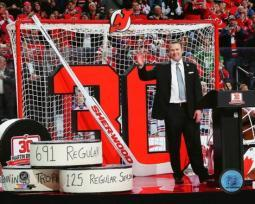 Martin Brodeur jersey retirement ceremony- February 9, 2016 Photo Print PFSAAST00501