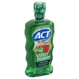 ACT Kids Anti-Cavity Wild Watermelon Fluoride Mouthwash