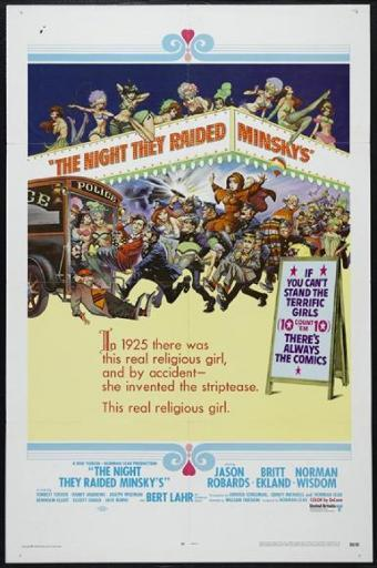 The Night They Raided Minsky's Movie Poster Print (27 x 40) IFOP7RTHNKB3GUVX