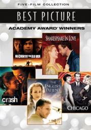 Best picture academy award winners 5 film collection (dvd) (5discs) D31973D