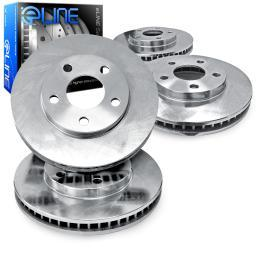 [FRONT+REAR] ELINE eLine Replacement  Brake ROTORS DISC CEB.34160.01