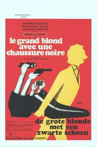 The Tall Blond Man with One Black Shoe Movie Poster (11 x 17) Z6COE077SWNJ2J7P