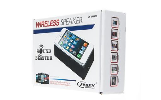 Zenex Interaction Near Field Boost Speaker with Built-In Amplifier for iPod, iPhones, iPads, Android Phones and Much More!