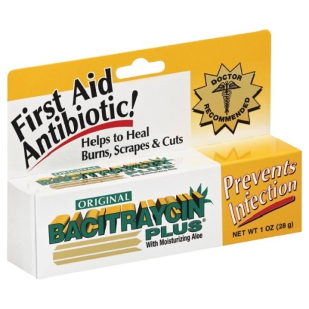 Bacitraycin Plus First Aid Antibiotic With Aloe