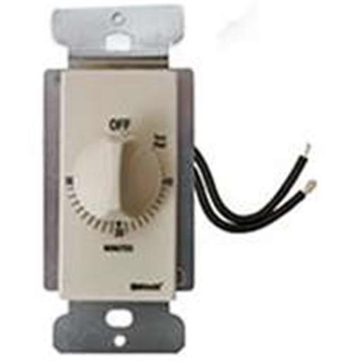 Coleman Cable 59715 In-Wall 30 Min Spring Wound Timer Almond