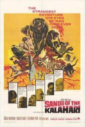 Sands of the Kalahari Movie Poster (11 x 17) MOVAF1090