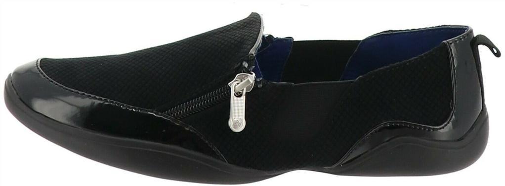 Adrienne Vittadini Sport Side Zip Slip-On Ganesa NEW S9375