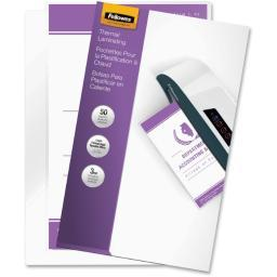Fellowes, inc. 52226 laminating pouches legal 3mil 50pk,dds must be ordered in multiples of case qty=