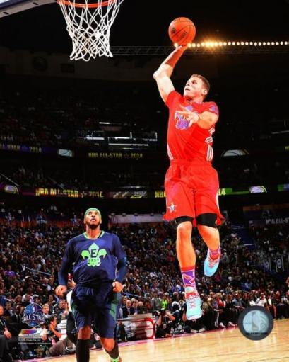 Blake Griffin 2014 NBA All-Star Game Action Photo Print WUVJY1YXCQBRBFM7