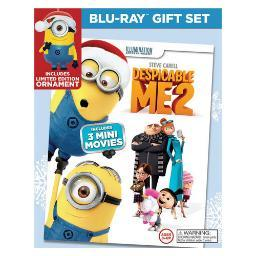 Despicable me 2 (blu ray/dvd) (limited edition holiday gift set) (2discs) BR61163651