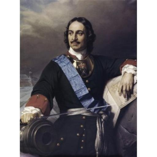 Posterazzi SAL9003275 Peter the Great Paul Delaroche 1797-1856 French Poster Print - 18 x 24 in.