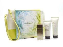 AHAVA Skincare Essentials Set: Dead Sea Osmoter Concentrate  .17,  Essential Day Moisturizer  .51 fl