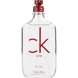 C.K. One Red Edition By Calvin Klein For Women - 3.4 Oz Edt Spray (Tester)  3.4 Oz