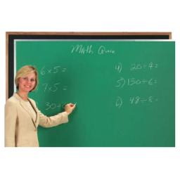 Aarco Products OC4896B Composition ChalkBoard Satin Anodized Frame - Black