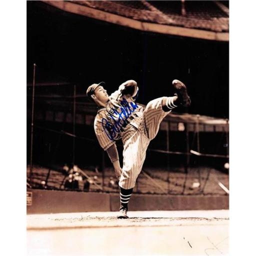 Autograph Warehouse 410553 Bob Feller Autographed 8 x 10 in. Photo Cleveland Indians Image No.8