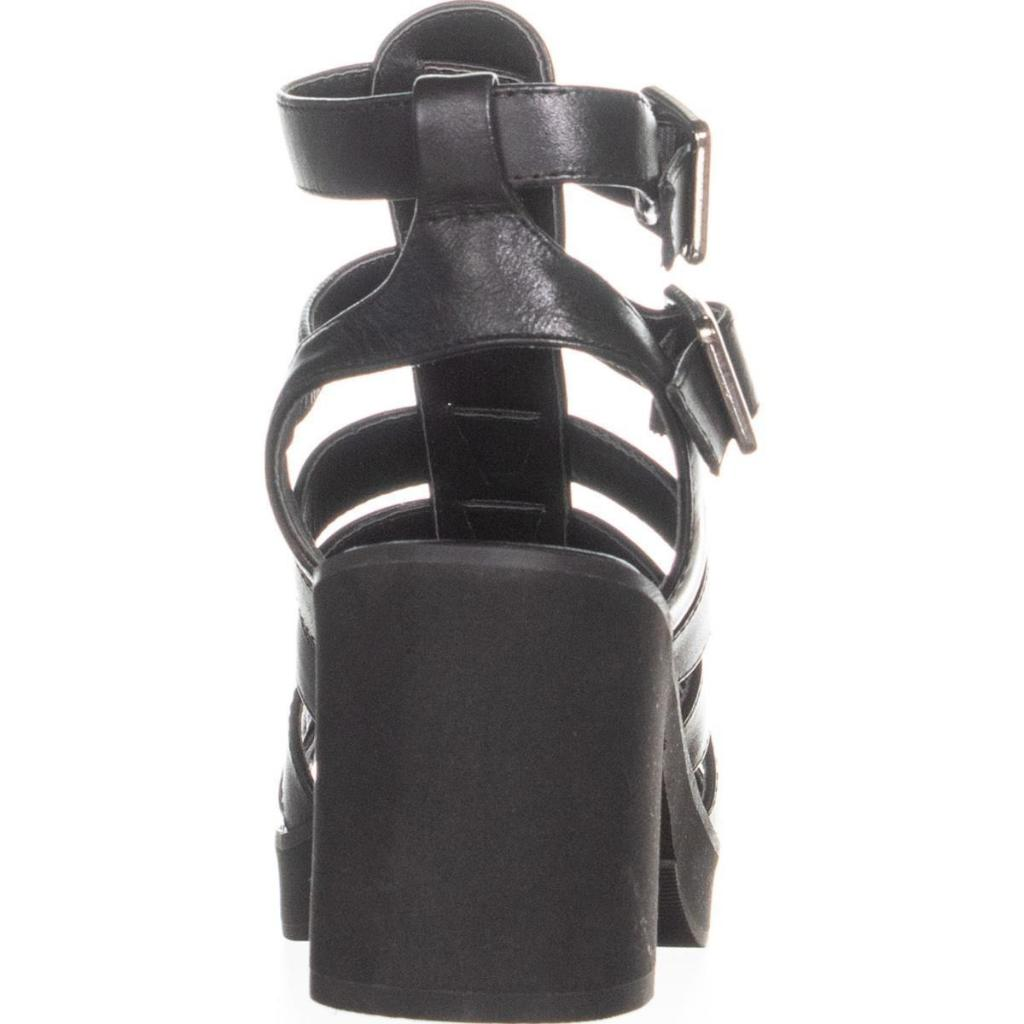 56ad4d7c197 Steve Madden Clue Strappy Sandals, Black