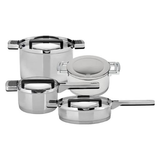 Berghoff 2211262 Neo Stainless Steel Cookware Set - 8 Piece
