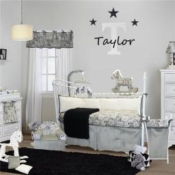 Cotton Tale Designs TA8S Taylor Crib Bedding Set - 8 Piece