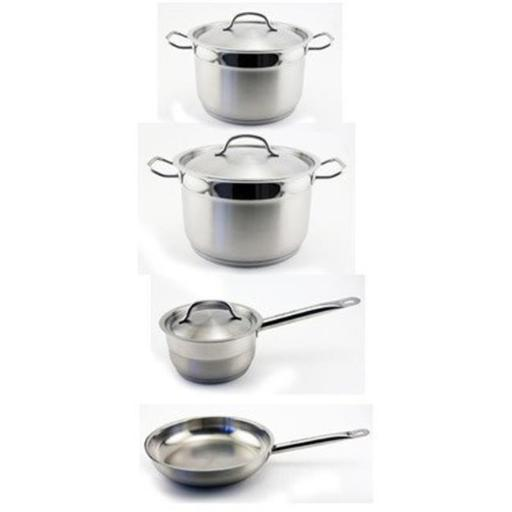 BergHOFF 1107000 Hotel Line Cookware Set -7 Pieces