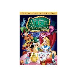 ALICE IN WONDERLAND SPECIAL UN-ANNIVERSARY EDI (DVD/2 DISC/WS 1.33/SP-FR-BO 786936801811
