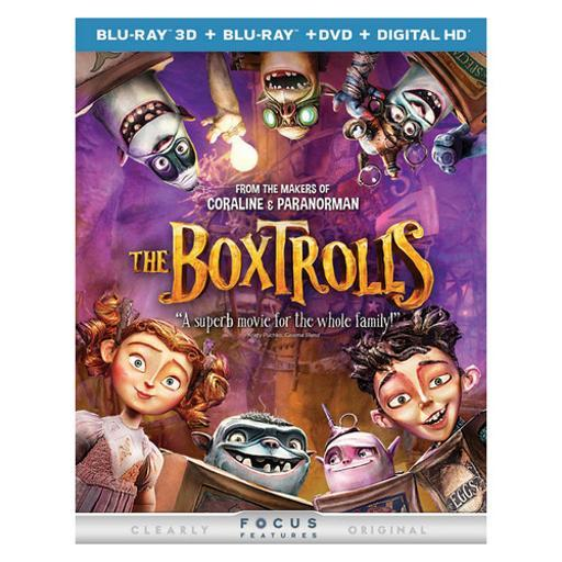 Boxtrolls 3d blu ray/dvd combo (2-disc combo/3d-br/dvd w/digital hd) (3-d) VFMVW1JUN3WEU6B3