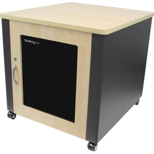 Startech.com rkqmcab12 store it equipment discreetly in the office, with a sound-insulated and stylish