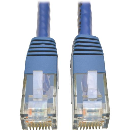 Tripp lite mfg co. n200-050-bl cat6 patch cable blue 50'