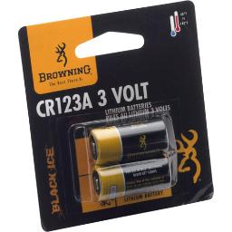 Browning 3742000 bg batteries cr123a 2-pack