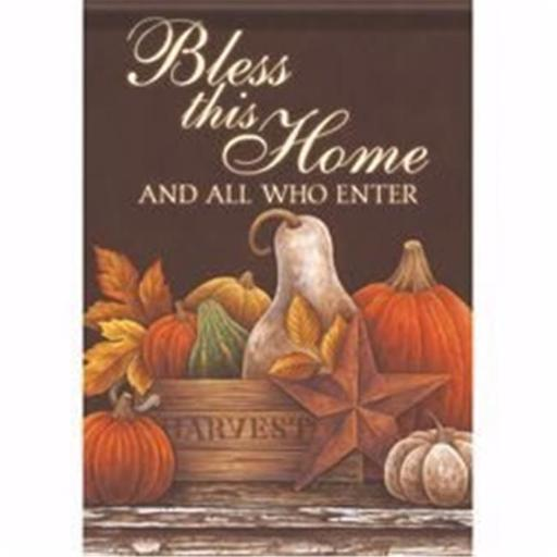 Carson Home Accents 142134 12.5 x 18 in. Harvest Still Life Garden Flag