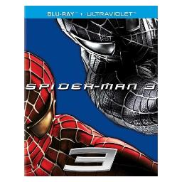 Spiderman 3 (blu-ray/2007/dol dig 5.1/ws 2.40/eng/fren-par/movie promo sku) BR39994