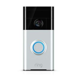Ring Wi-Fi Enabled Video Doorbell in Works with Alexa