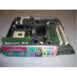Genuine Dell MotherBoard With Mounting Tray For Optiplex GX240 SFF/DT/SMT Systems, Compatible Dell Part Numbers: 3N338, 8P277, 7H371, 3E078, 5J706, 8P283
