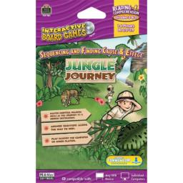 Teacher Created Resources Jungle Journey Interactive Board Game CD (7851)