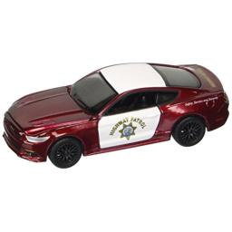 Auto World CP7475-24 1: 64 America's Finest California Highway Patrol, 2017 Ford Mustang, Black