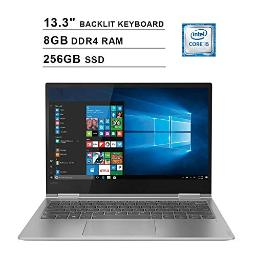 2020 Lenovo Yoga 730 133 Inch Fhd Ips 2In1 Touchscreen Laptop (Intel Quadcore I58250U Up To 46Ghz 8G Ram 256Gb Pcie Ssd Intel Uhd Graphics 620 Backlit Keyboard Jbl Speakers Win 10)