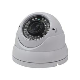 SPT 11-MC101DV6W 720P HD-CVI IR Vandal Dome Camera w/ 2.8mm~12mm Lens, 36IR & DC12V (White)