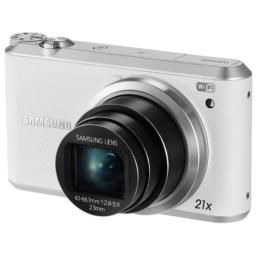 Samsung WB350F 16.3MP CMOS Smart WiFi  NFC Digital Camera with 21x Optical Zoom and 3.0 Touch Screen LCD and 1080p HD Video (White)