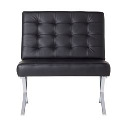 Studio Designs Atrium Chair Black Bonded Leather