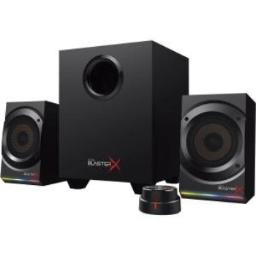 Sound BlasterX Kratos S5 2.1 PC Computer Gaming Speaker System with Subwoofer and Customizable RGB Lighting - 51MF0470AA001