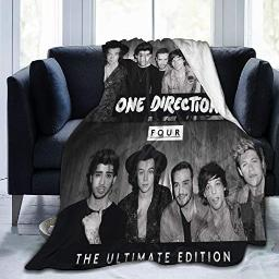 Super Soft Warm Throw Blanket Ultra-One Direction Four Soft Micro Fleece Blanket Couch Lap Throw Blanket
