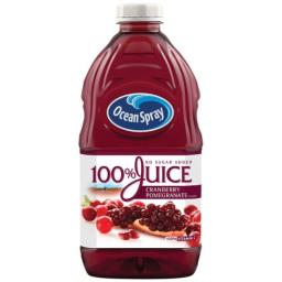 Ocean Spray 100% Juice, Cranberry Pomegranate, 60 Ounce Bottle (Pack of 8)