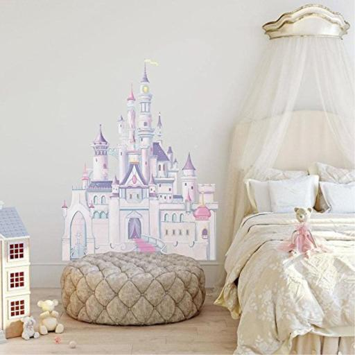 RoomMates Disney Princess Castle Peel and Stick Giant Wall Decal