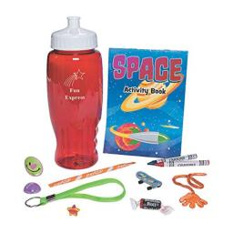 Fun Express - Prefilled Red Water Bottle W/ Candy - Toys - Assortments - Misc Assortments - 40 Pieces