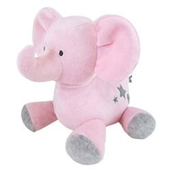 Carter's Luxe Plush Soft Pink Elephant, Musical Wind-up, Twinkle Twinkle Little Star