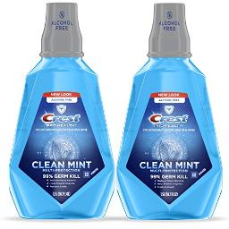 Crest ProHealth Multiprotection Clean Mint Rinse 50.7 fl oz Pack of 2