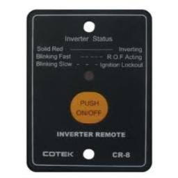 COTEK CR-8 Inverter Remote Control With 25 Foot Cable | Remote Control for COTEK SD Series, SE Series & SP Series Inverter | Remote Access via User Friendly Interface