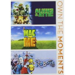 Aliens in the Attic / Mac and Me / Robots Triple Feature