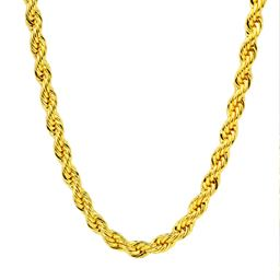"""14K Gold Filled 6MM Rope Chain 24"""""""