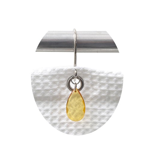 Carnation Home Fashions Prism Resin Shower Curtain Hooks in Gold
