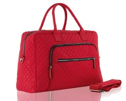 MKF Collection Aletha Quilted Weekender Duffle Bag by Mia K. Farrow
